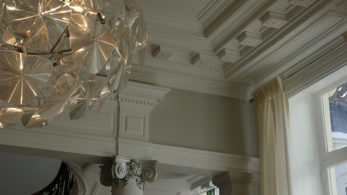Sn borrewater staff pl tre d coratif pl trerie lille for Decoration plafond platre france